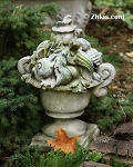 Urn of Shells Finial