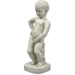 Little Boy Peeing Statue