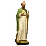 Large Saint Jude Statue in Color