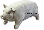 Life Size Pig Statue