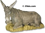 Donkey Statue For Nativity Scene