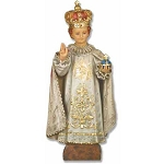 Christ Child of Prague Statue in Color