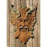 Big Green Man Wall Plaque