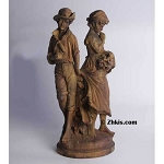 Young Lovers Statue