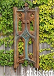 Gothic Style Wall Tracery Panel
