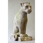 Rustic Panther Statue