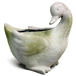 Large Duck Planter