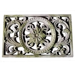 Wall Grille With Medallion