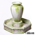 Olive Jar Garden Water Fountain