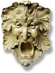 Garden Green Man Wall Plaque