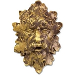 Blowing Greenman Wall Plaque