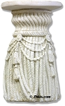 Tassel and Rope Pedestal