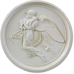 Angel of Night Wall Plaque (Large)
