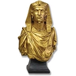 Egyptian Pharaoh Bust Statue
