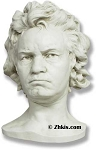 Head of Beethoven Statue