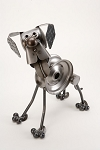 Hound Dog Sculpture