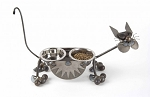 Metal Raised Cat Feeder