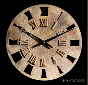 Small Roman Retro Wall Clock