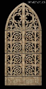 Architectural Wall Gate Sculpture