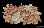 Large Foliage Collage Wall Sculpture