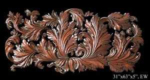 Acanthus Leaf Wall Panel