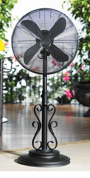 Ebony Outdoor Fan