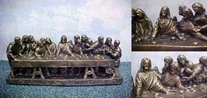 The Last Supper Statue