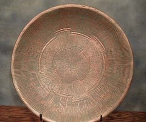 Charger Plate (Copper Verde)