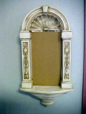 Wall Niche With Mirror