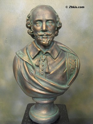 Bust Statue of Shakespeare