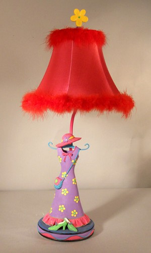 Colorful Girl's Room Lamp