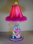 Girls Pretty Shoe Lamp