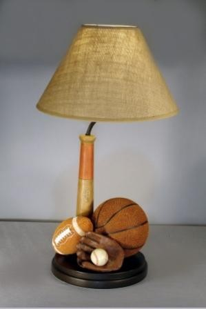 Sports Themed Table Lamp