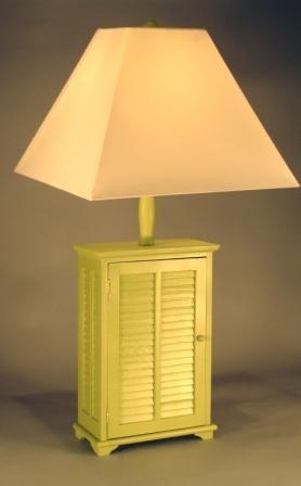 Green shutter table lamp aloadofball Images