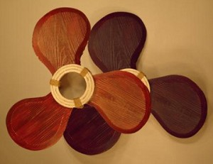 Red and Blue Propeller Set
