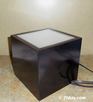 Lighted Box Pedestal 6""