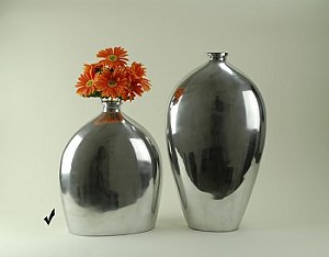 Polished Aluminum Jug