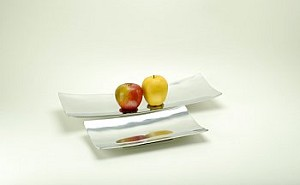 Lengthy Rectangular Trays Set of Two