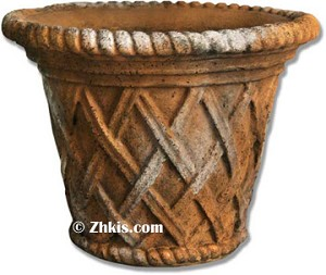 Lattice Style Pot Large