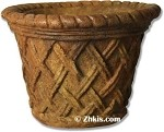 Lattice Style Pot Small