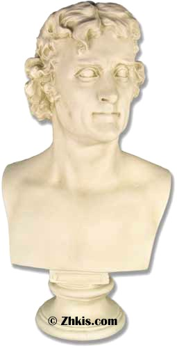 Young Thomas Jefferson Bust