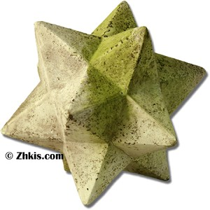 Geometric Star Garden Decoration Small