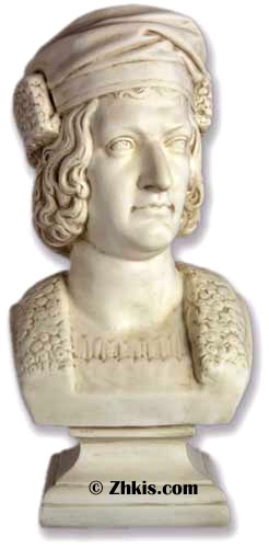 Christopher Columbus Bust