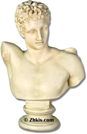 Greek Hermes Bust