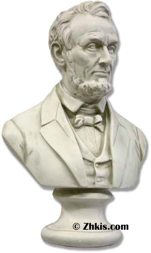 Abraham Lincoln Bust Statue