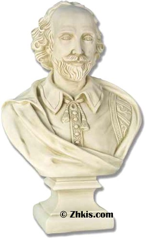 Shakespeare Bust Big