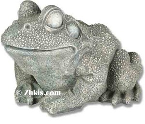 Large Frog Garden Statue