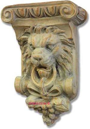 Lion Corbel Shelf