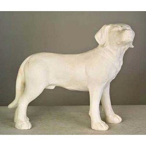 Standing Young Lab Puppy Statue