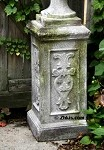Narrow Cameo Pedestal